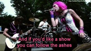Icon For Hire - Theatre (Lyrics On Screen Video)