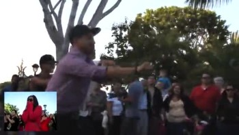 Amazing Disney Surprise Proposal AND Flash Mob!