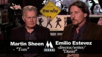 THE WAY - Martin Sheen and Emilio Estevez interview A