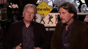 THE WAY - Martin Sheen and Emilio Estevez interview B