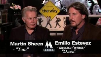 THE WAY - Martin Sheen and Emilio Estevez interview C