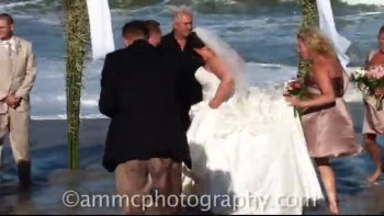 Wave Ruins Wedding