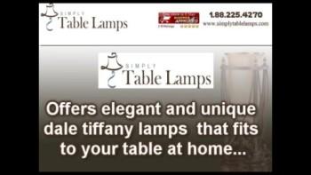 Unique Dale Tiffany Lamps