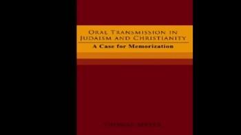 oral transmission chapter 6