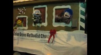 Christian Puppets in Christmas Parade