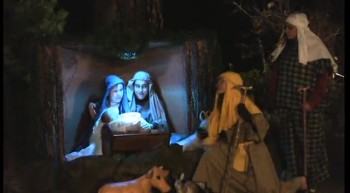 'Away in a Manger' ---------- 'silent' Enactment