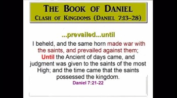 Clash of Kingdoms (Daniel 7:13-28)