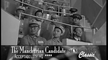 THE MANCHURIAN CANDIDATE classic review