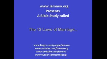 The 12 Laws of Marriage