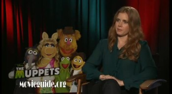 THE MUPPETS - Amy Adams interview