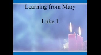 Learning from Mary - 11/27/2011