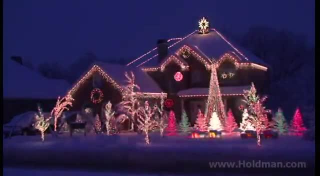 'Amazing Grace' Christmas Light Show - Inspirational Videos - Amazing Grace' Christmas Light Show - Inspirational Videos