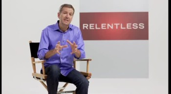 John Bevere talks about his new book Relentless