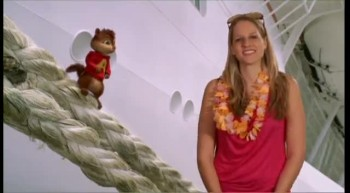 ALVIN AND THE CHIPMUNKS - Evy talks with Alvin