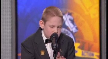 Christopher Duffley sings Moving Performance of Lean on Me