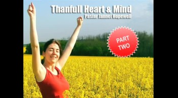A Thankful Heart and Mind