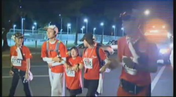 Blind 11-year-old Completes Marathon