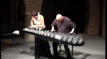 Amazing Sugar Plum Performance On Crystal Glasses