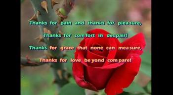 Thanks To God