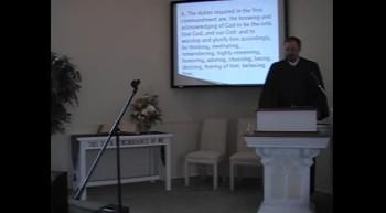 """""""The First Commandment"""" R. Scott MacLaren, First OPC Perkasie"""
