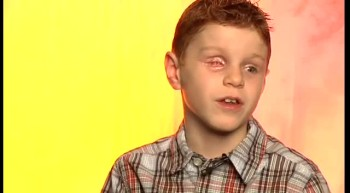 Visually Impaired 8 year old boy shares his life change story