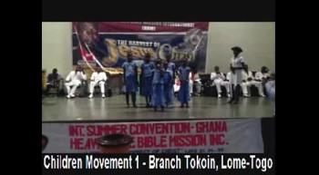 HBM - Children Movement 1 - Branch Tokoin, Lome-Togo