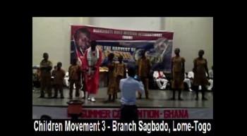 HBM - Children Movement 3 - Branch Sagbado, Lome-Togo