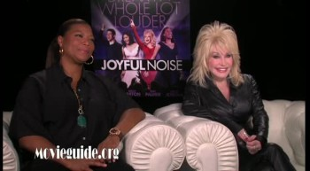 JOYFUL NOISE - Queen Latifah and Dolly Parton interview