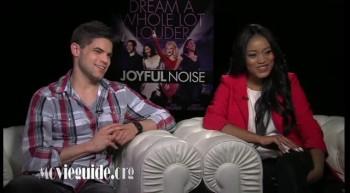 JOYFUL NOISE - Keke Palmer  Jeremy Jordan interview