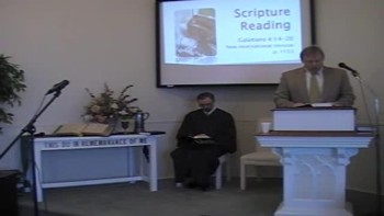 Worship Svc. 1/8/12 First OPC Perkasie, PA