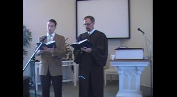 """""""Near the Cross,"""" Waggoner and MacLaren, 1/08/2012 First OPC Perkasie PA"""