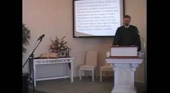 """Remember!"" Lg Catechism Q #121 R Scott MacLaren First OPC Perkasie PA"
