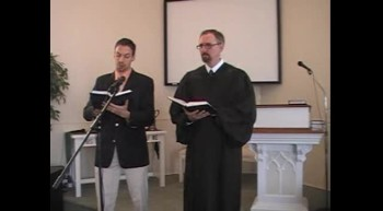 """""""It Is Well With My Soul,"""" Waggoner & MacLaren, 1/22/2012 First OPC Perkasie PA"""