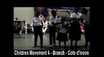 Children Movement 4 - Branch - Cote d'Ivoire