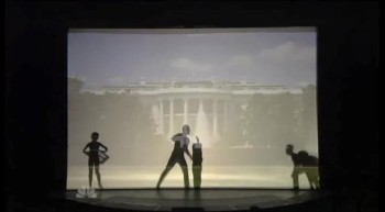 Silhouettes Moving Tribute Performance to the USA
