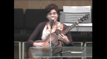 Abby Trevino singing on 1-15-12