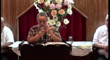 Despojandonos de todo peso de pecado. Hna. Viviana Garcia. 31-01-2012