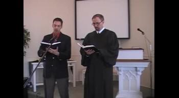 "Hymn: ""Jesus, Lover of My Soul,"" Waggoner and MacLaren, First OPC Perkasie PA 2/12/2012"