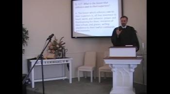 "Catechism: ""Duties of Inferiors"" R Scott MacLaren First Presbyterian Church Perkasie PA"
