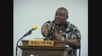 THE POWER OF WORDS PART 2 Pastor James Anderson Feb 14 2012e