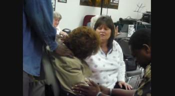 Pastor James Anderson Praying for Sis Paula Feb 14 2012b