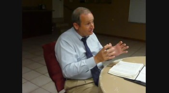 Pastor Chuck Kennedy at Loving Hands Ministry August 5 2011e
