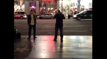 Out On Hollywood Blvd, Hollywood, CA Ministering Pt. 2