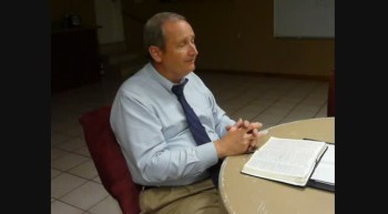 Pastor Chuck Kennedy at Loving Hands Ministry August 5 2011c
