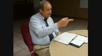 Pastor Chuck Kennedy at Loving Hands Ministry August 5 2011b