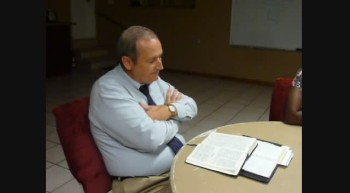 Pastor Chuck Kennedy at Loving Hands Ministry August 5 2011a