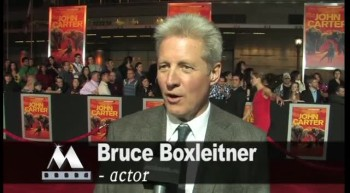 JOHN CARTER red carpet interviews