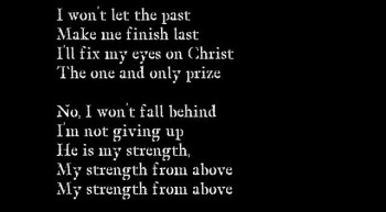 "Teen Christian Singer Tanner Azzinnaro's Song ""My Strength"" (with lyrics)"
