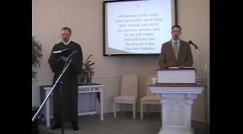 "Hymn: ""Ye Holy Angels Bright,"" First OPC Perkasie, 3/11/2012"