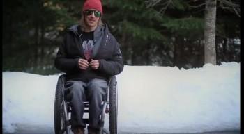 Paraplegic Skier does Back Flip! WOW!